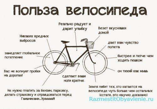советы при выборе велосипеда картинка